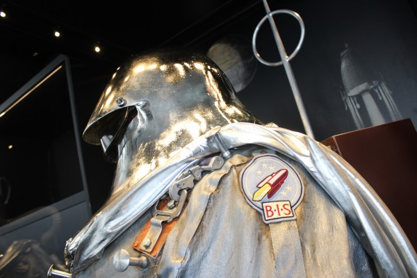 image British Interplanetary Society Lunar Spacesuit - Credit: National Space Centre