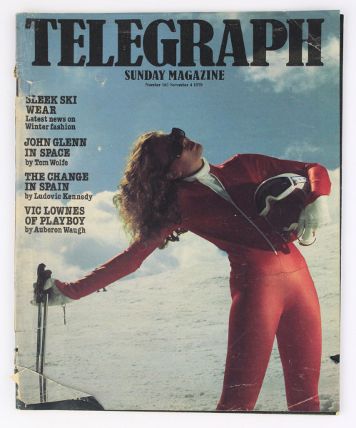 image Telegraph Sunday Magazine 4 November 1979 (front)