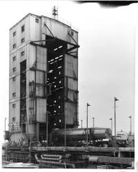 Blue Streak Rocket Photograph