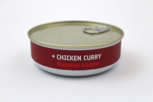 Heston Blumenthal Space Food - Chicken Curry