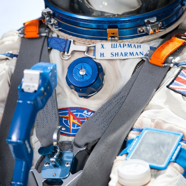 image Sokol KV-2 Rescue Spacesuit, worn by Helen Sharman during training