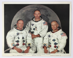 Apollo 11 Crew Photograph