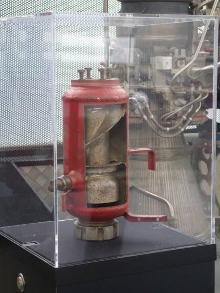 image V-2 Steam Generating Chamber - on loan from the Royal Air Force Museum