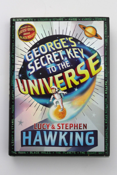 image 'George's Secret Key to the Universe' Inscribed Hardback Book