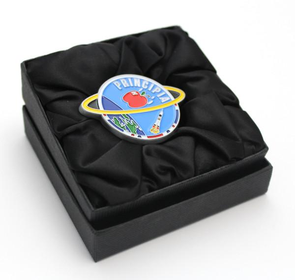 image Flown Principia Coin in presentation box