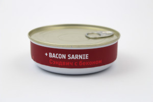Heston Blumenthal Space Food - Bacon Sarnie