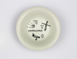 Satellites Ceramic Bowl