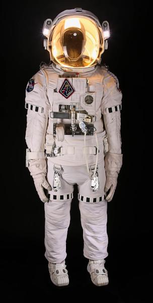 image Matt Damon's EVA spacesuit from the Ridley Scott film, 'The Martian'