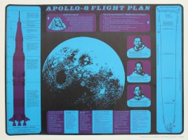 Apollo 8 Mission Promotional Posters