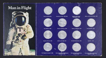 Coin Collection Commemorating 'Man in Flight'