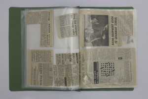 Green File Containing Kettering Group Press Cuttings and Correspondence