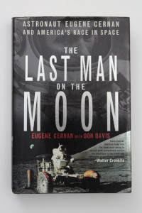 'The Last Man on the Moon' Hardback Book Signed by Gene Cernan