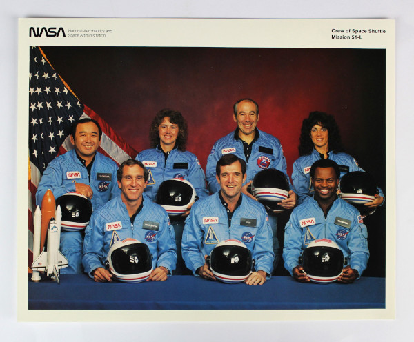 image STS-51-L crew photograph