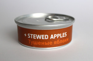 Heston Blumenthal Space Food - Stewed Apples