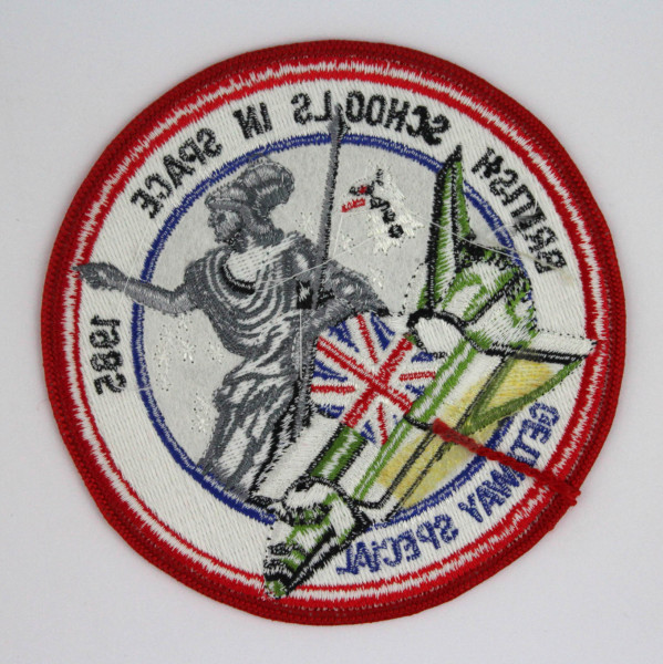 image British Schools in Space Mission Patch - Back