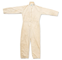 Terry Slezak's White Anti-Static Space Shuttle Ground Crew Coveralls