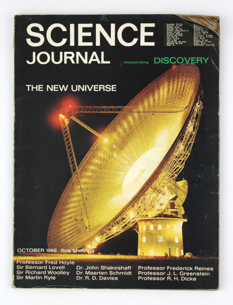 image Science Journal October 1966 (front)