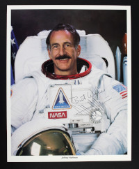 Signed NASA Photograph of Jeffrey Hoffman