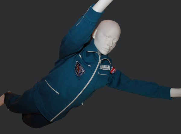 image PK-14 Cosmonaut Flightsuit used by Helen Sharman - on loan to the National Space Centre courtesy of Helen Sharman