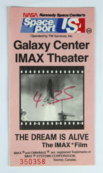 image Ticket stub
