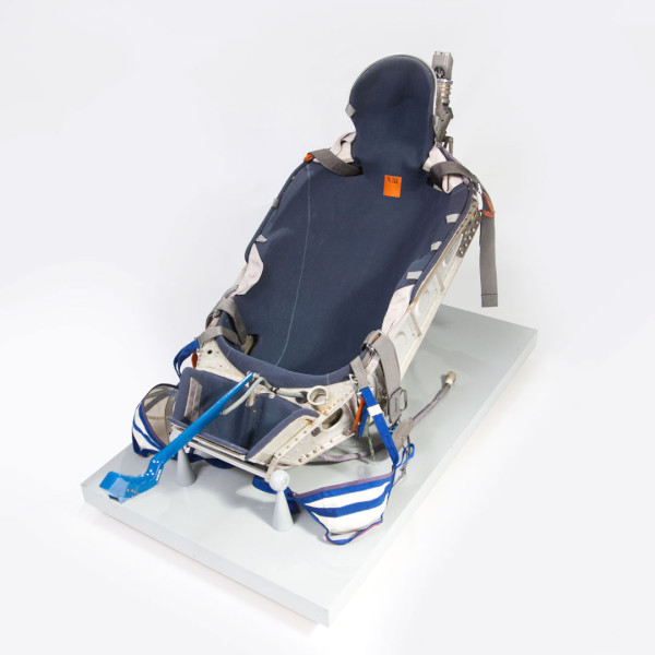 image Kazbek-UM Shock Absorbing Couch, used by Helen Sharman in 1991