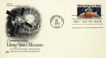 Commemorating Viking Space Missions First Day Cover