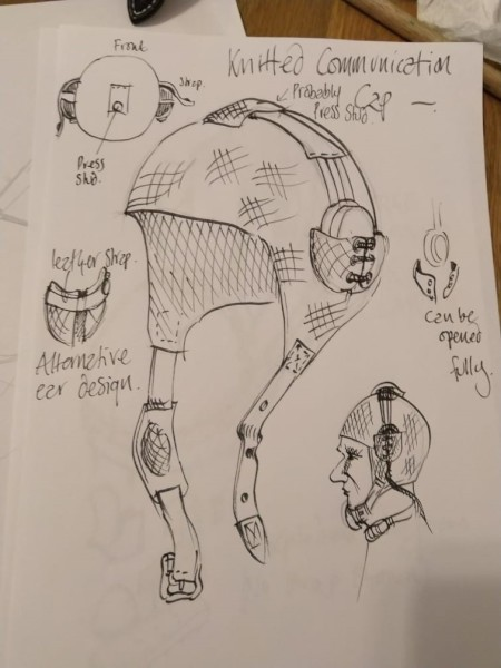 image British Interplanetary Society Lunar Spacesuit; work in progress - Credit: Ancient Wisdom