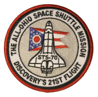 The All-Ohio Space Shuttle Mission Patch