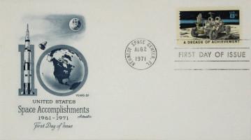 Space Achievement Commemorative Issue 'A Decade of Achievement' First Day Cover