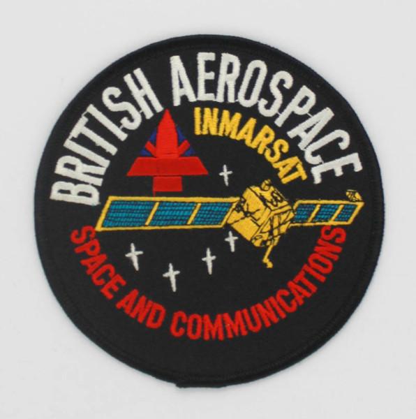image British Aerospace INMARSAT Mission Patch - Front