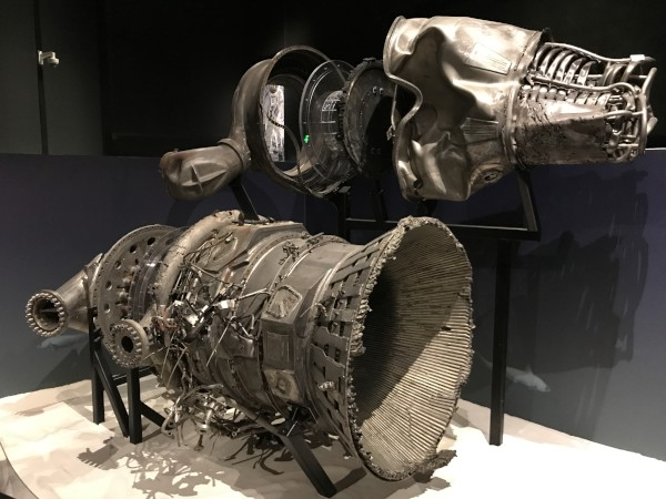 image Recovered F-1 engine parts - Credit: Loungeflyz