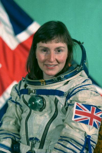 image Helen Sharman's official cosmonaut photograph - Credit: Gagarin Research & Test Cosmonaut Training Center