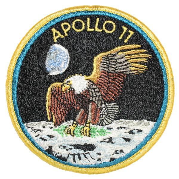 image Apollo 11 mission patch, worn in quarantine