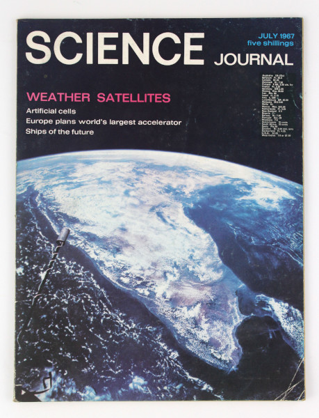 image Science Journal July 1967 (front)