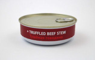 Heston Blumenthal Space Food - Truffled Beef Stew