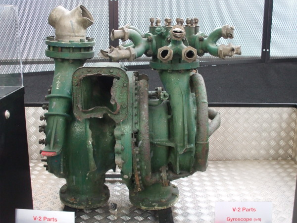 image V-2 Turbo Pump - on loan from the Royal Air Force Museum