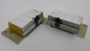 Aluminium Honeycomb Hypervelocity Impact Target, Cutaway