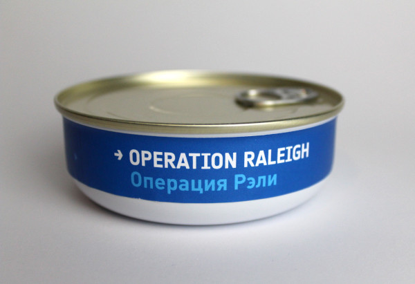image Heston Blumenthal Space Food - Operation Raleigh