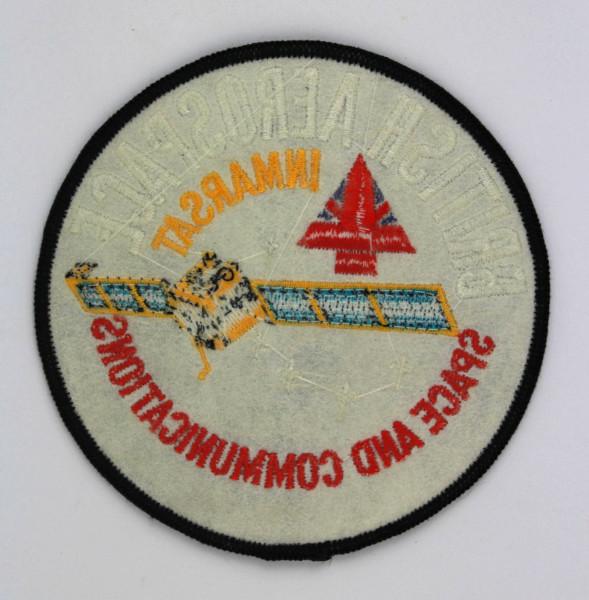 image British Aerospace INMARSAT Mission Patch - Back