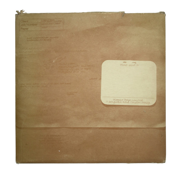 image Wiggins Teape Ltd. Lunar Orbit Promotional Pack original envelope
