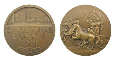 1948 London Olympics Participation Medal