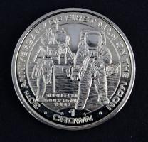 Isle Of Man 30th Anniversary Apollo 11 One Crown Coin