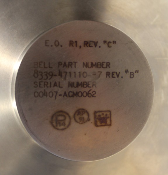 image Oxidizer Tank label