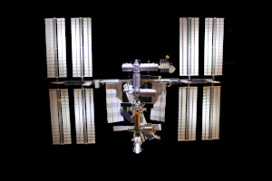 International Space Station 1:50 Scale Model