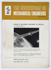 Proceedings from The Institution of Mechanical Engineers Joint Meeting, 1972