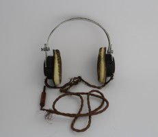 Headphones for Marconi CR100/2 Communications Receiver