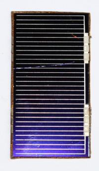 Two Flown Solar Cells from Hubble Space Telescope