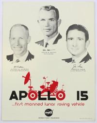 Apollo 15 Promotional Poster