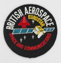 British Aerospace EUROSTAR Mission Patch