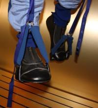 Prophylactic Body-Loading Suit Boots